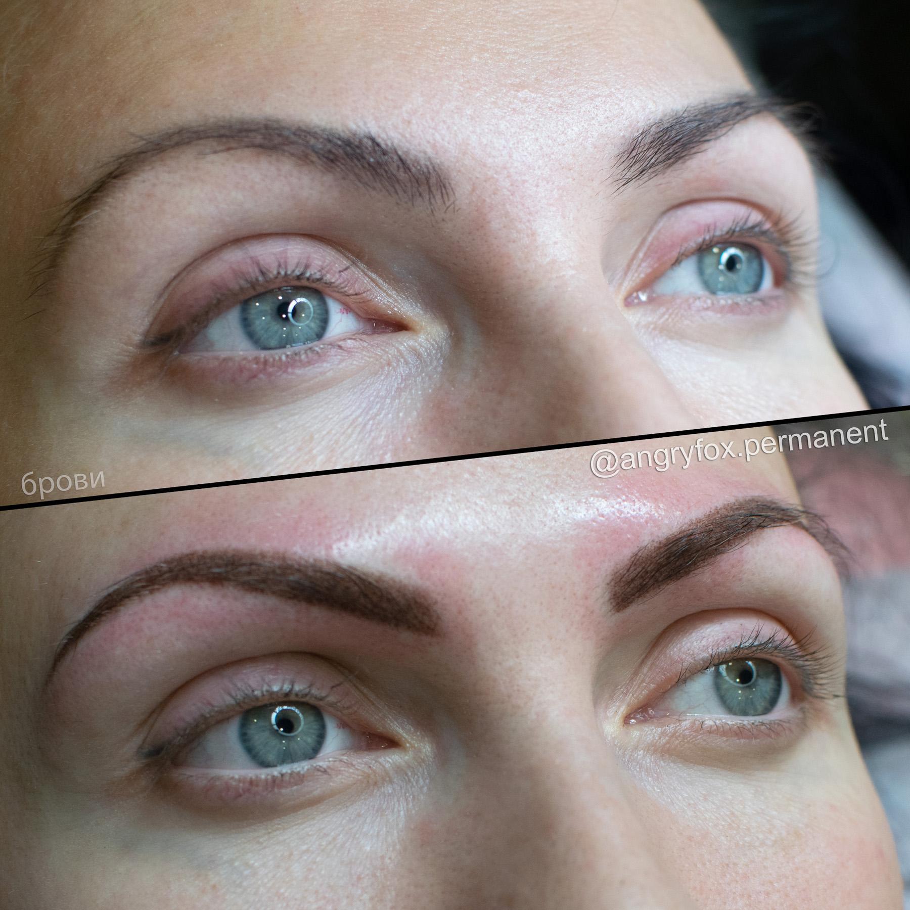 перманентный макияж, перманент, перманент бровей, татуаж бровей, брови, коррекция бровей, архитектура бровей