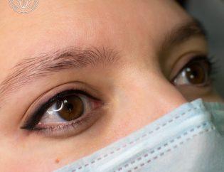перманентный макияж, перманент, перманент глаз, татуаж глаз, веко, стрелки, межресничная линия, тени, растушёвка