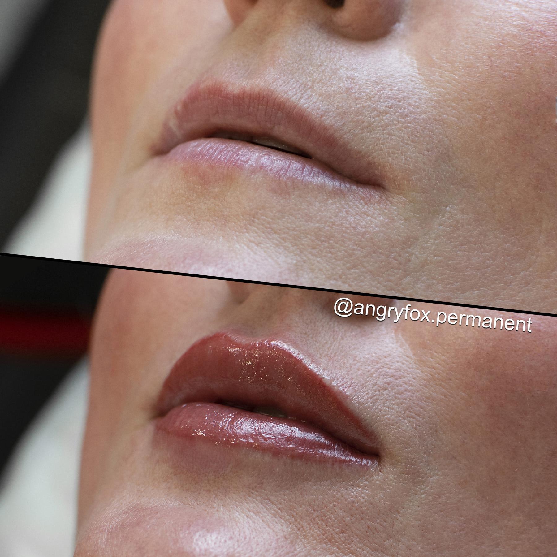 перманентный макияж, перманент, перманент губ, татуаж губ, губы, помада, контур губ